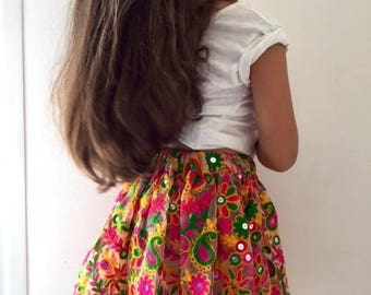 Rich & Colourful Embroidered Tutu