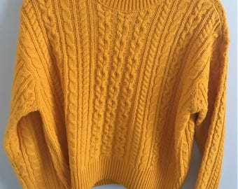 Mustard Yellow Sweater (Super Soft) REDUCED PRICE
