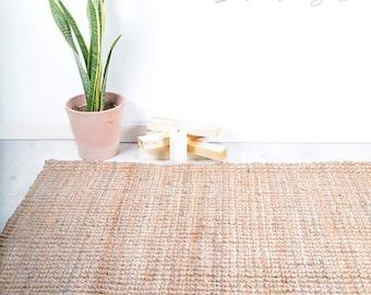 jute rug etsy. Black Bedroom Furniture Sets. Home Design Ideas