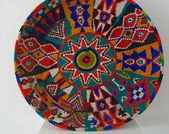 Moroccan African Berber Vintage Bread Plate