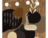 Garden / Fine Art Print / Impression papier d'art / A3 A4 A5