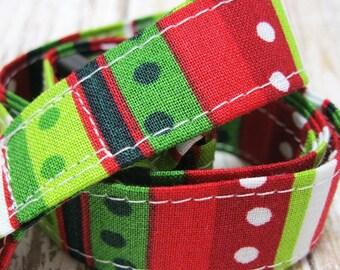Lanyard, Badge Holder, ID Holder, Breakaway Lanyard, Fabric Lanyard, Teacher Lanyard, Geometric Christmas Holiday