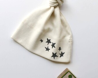 Star Organic Cotton Star Hat- Made in Seattle