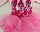 TROLLS POPPY TUTU- Trolls Birthday - Trolls Party- Trolls Poppy Dress - Poppy Costume