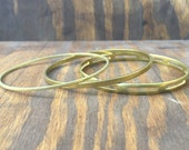 Brass Bangles. Metal Bangles. Gold Bangles. Bangles. Gifts for Her. Birthday Gifts. Brass Bracelets. Bracelets. Bangle Bracelets. Stackables