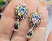 Vintage Crystal AB, Handm...