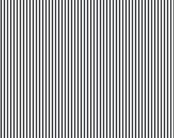 Dear Stella Dress Stripes Charcoal 100% Cotton Fabric