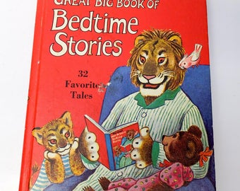 Tibor Gergely's Great Big Book of Bedtime Stories - compilation of classic tales - gorgeous illustrations