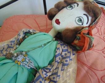 Isadora - Lounge Pyjama Boudoir Doll