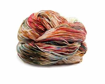 300 Yards Hand Dyed Crochet Thread Size 10 Cotton Thread 3 Ply Sage Brown Terracotta Blue Grey Fine Cotton Yarn