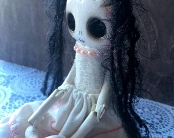 Daisy   - an original handmade ghost doll