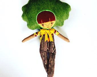 Tree Man // Unique Doll // Ready Made // One of a Kind