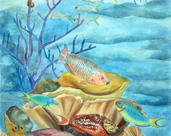 Jelly Room - Limited Edition Giclee Print