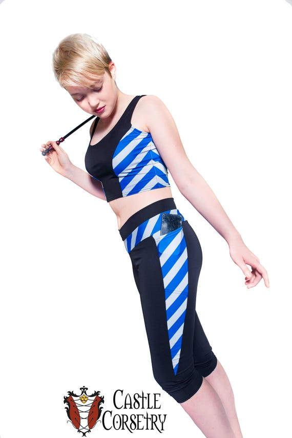 Blue #BasicWitchWear Workout Pants PREORDER