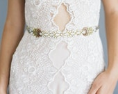 "Ombre beaded wedding belt ""Paloma"""