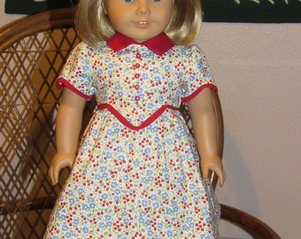 1930s School Frock Dress for American Girl Kit Ruthie 18 inch dolls