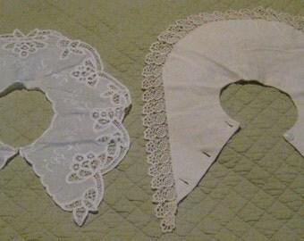 Pair of Vintage Lady's Collars