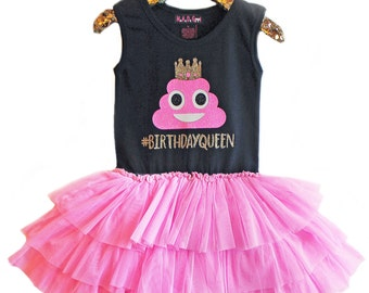 Personalized Birthday Tutu Dresses and Tees for Girls by madgrrl