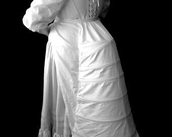 Plus Size Victorian Bustle Historic Underwear Curvy full figured all sizes, custom sized 19th century, late 1800s