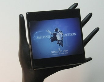 Michael Jackson Limited Edition Collector Card Drink Coaster