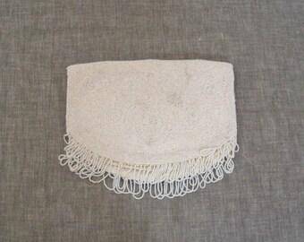 Vintage Jorelle Beaded Purse - Fold Over Clutch - Belgium