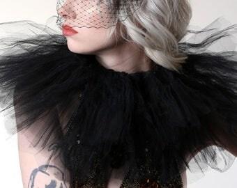 Jennifer Lawrence style veil, black veil headband, navy, white, ivory.