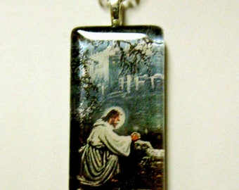 Agony in the garden pendant with chain - GP01-642