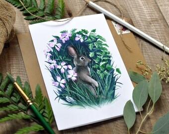 Set of 5 Cards - Flora & Fauna Series