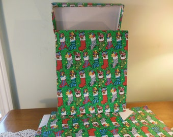 9 Large Christmas Gift Boxes, Holiday Gift Boxes, Packaging Boxes