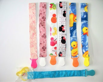 Universal Pacifier Clip, Pacifier Holder, Num Num Holder,Clip Pacifier to Shirt,Rattle Holder Clip, Teething Ring Clip,Keep Pacifier Clean