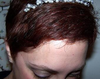 Vintage Style Pearl Wedding Hair Comb