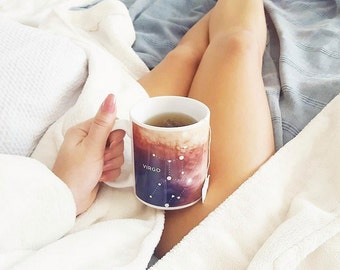 Virgo Mug - Gift for a Virgo - Astrology Coffee Mug - Virgo Zodiac Present - September Birthday Gift - Virgo Astrological Coffee Cup - Bday