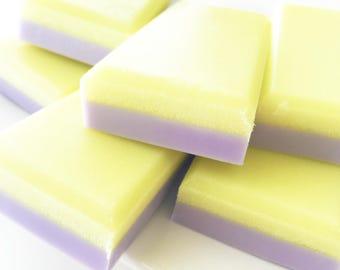 Sugar Scrub Soap Bar, Lemon Lavender Soap, Lemon Lavender Sugar Scrub, Sugar Scrub Bar, Solid Sugar Scrub