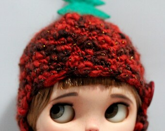 Merry Christmas Hat for Neo Blythe
