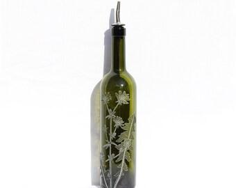 Customized Decanter, Custom Decanter, Custom Liquor Bottle, Decorative Liquor Bottle, Decorative Pourer, Oil Pourer, Bitters Bottle