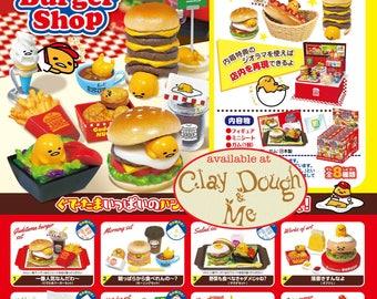 Re-ment Gudetama Burger Shop/ Rement Gudetama Burger Shop/Re-ment Gudetama/Re-ment Sanrio/ Miniature food