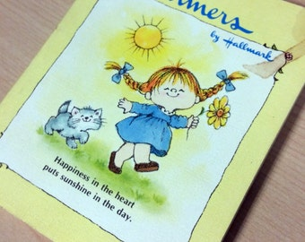 Hallmark Charmers Happiness In the Heart Puts Sunshine in the Day Book