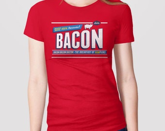 Bacon T-Shirt | Gift for Bacon Lover Shirt, Funny Shirts for Guys, Funny T-Shirt with Saying, Bacon Gift, Novelty Tee, Funny Graphic Tee,