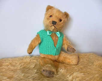 Chiltern 1940's Bear - Chiltern Mohair Bear - Vintage Chiltern Teddy Bear