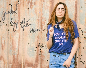 Howl in the Moonlight Slouchy Tee