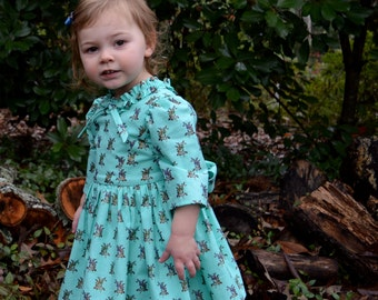 Turquoise Berry Dress by Papoose Clothing