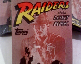 Indiana Jones Raiders of the Lost Ark Trading Cards