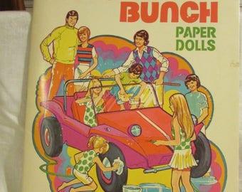 Brady Bunch Paper Dolls