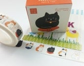 Lovely Cat Washi Tape (15mm X 7M)