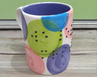 Custom Personalized Braille Written Gift Coffee Mug