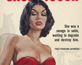 The Cruel Touch - 10x17 Giclée Canvas Print of a Vintage Pulp Paperback Cover