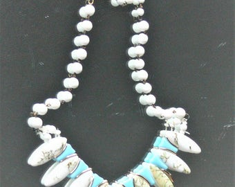 west Germany glass necklace