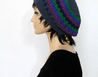 Crochet Beret Pattern Crochet Pattern Crochet Beret Hat  Crochet Hat Pattern