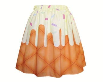 Vanilla Ice Cream Skirt