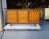 For Tim, Deposit on Retro Mid Century Modern Vintage Dresser, Buffet, Server PICK UP ONLY Storage, chest, sideboard, Mod